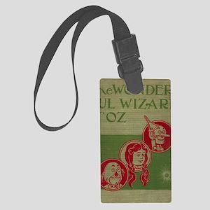 Vintage Wizard of Oz 1899 Large Luggage Tag