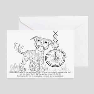 BODACIOUS- Time To Stop Bullying Greeting Card