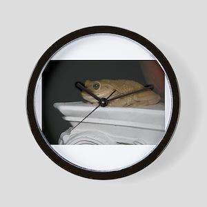 Happy Frog 2 Wall Clock