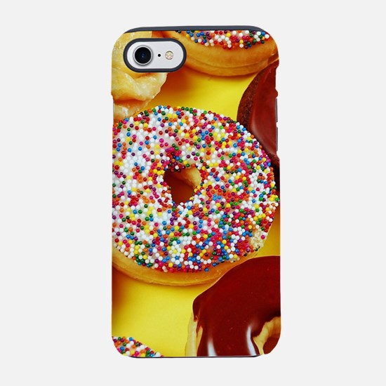 Assorted delicious donuts iPhone 7 Tough Case