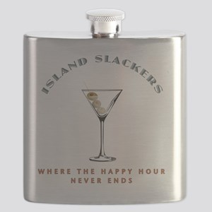 HAPPY HOUR wht Flask