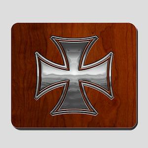 malt-wood-CRDh Mousepad
