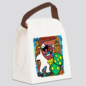 Sharks in the City: Paramount Pic Canvas Lunch Bag
