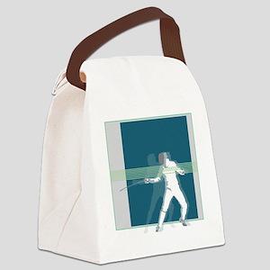 sjkdcsnj Canvas Lunch Bag