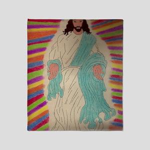 Jesus Throw Blanket