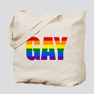 Gay Pride Colors Tote Bag