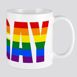 Gay Pride Colors Mugs