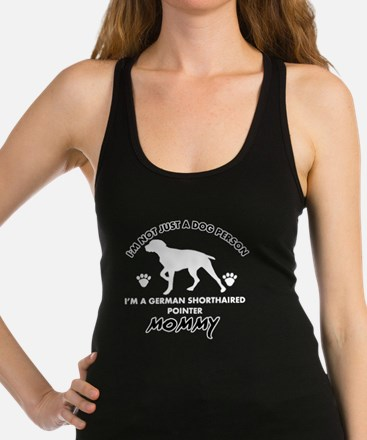 German Shorthaired Pointer desi Racerback Tank Top