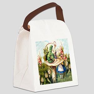 ALICE_8_SQ Canvas Lunch Bag
