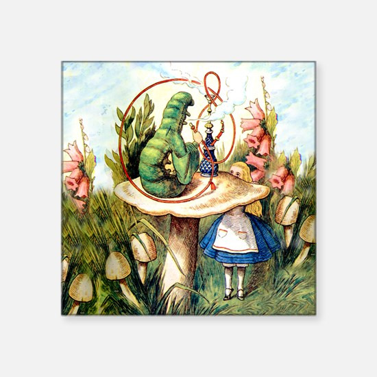 "ALICE_8_SQ Square Sticker 3"" x 3"""