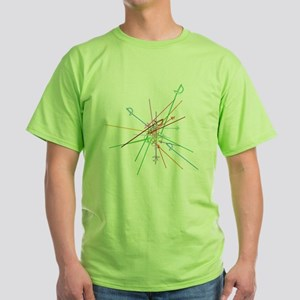 weapon scatter Green T-Shirt