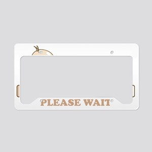 Baby Loading License Plate Holder