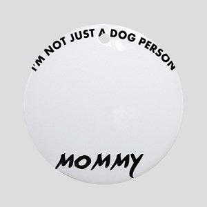 Dandie Dinmont Terrier dog breed de Round Ornament
