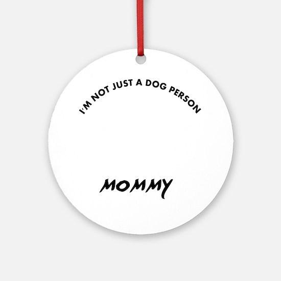 Dogue de Bordeaux dog breed designs Round Ornament