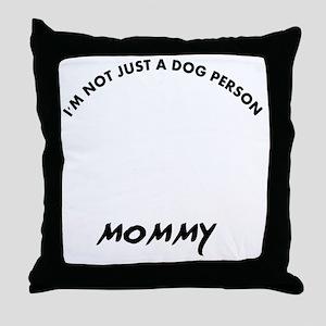 Dogue de Bordeaux dog breed designs Throw Pillow