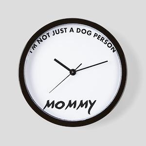 Kuvasz dog breed designs Wall Clock
