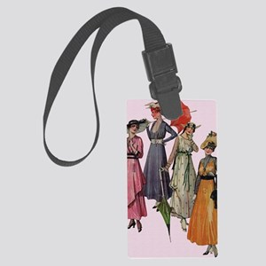 Women's Fashions 19... Large Luggage Tag