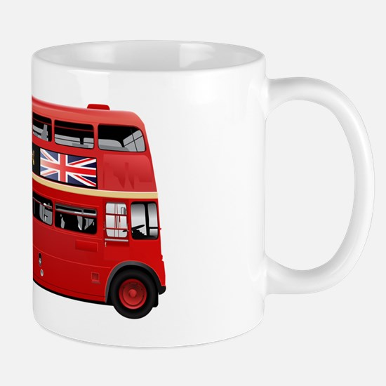 London Red Bus Mug