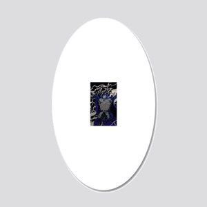 day of reckoning 20x12 Oval Wall Decal