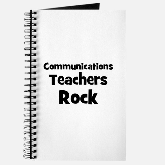 Communications Teachers Rock Journal