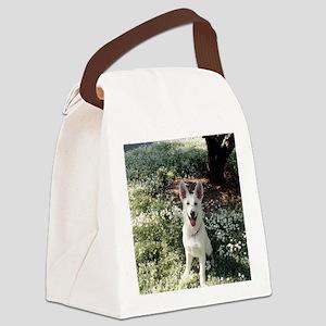 Kole in flowers Canvas Lunch Bag