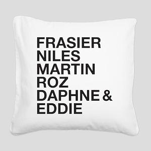 Frasier Cast Square Canvas Pillow
