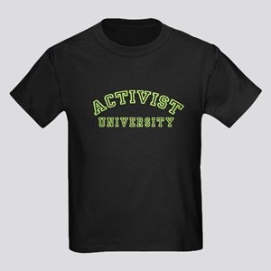Activist University Kids Dark T-Shirt