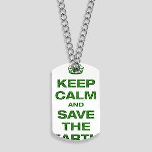 Keep Calm Dog Tags