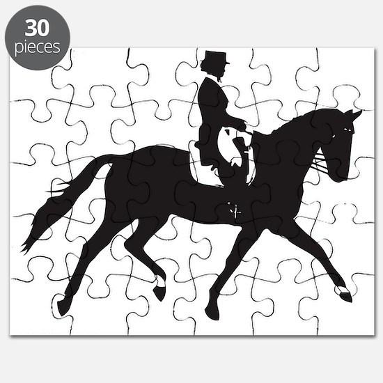 Dressage Trot Puzzle