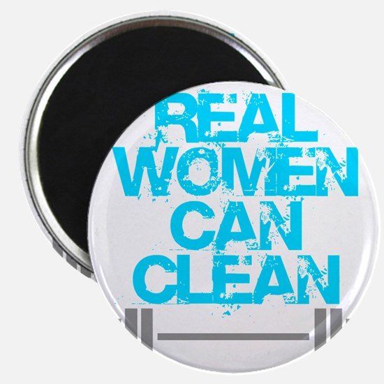 Real Women Can Clean (Light Blue) Magnet
