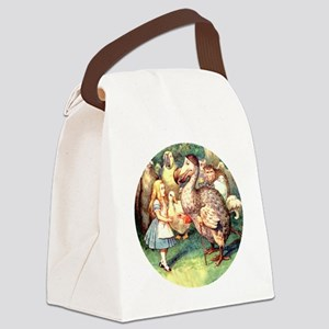ALICE_9_RD Canvas Lunch Bag