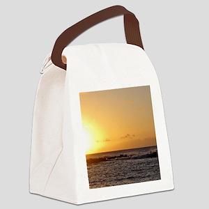 Molokai Surf Canvas Lunch Bag