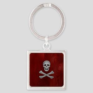 steelwood-pirate-PHNz Square Keychain