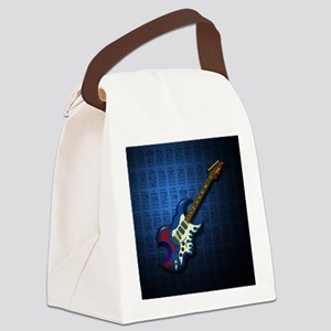 KuuMa Guitar 02 (B) Canvas Lunch Bag
