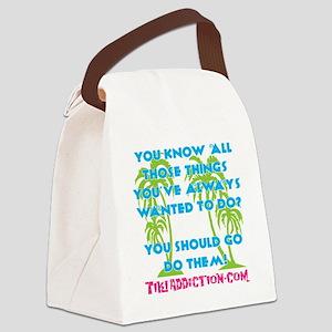 GO DO THEM - ALL Canvas Lunch Bag