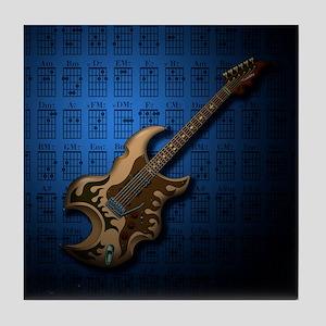 KuuMa Guitar 04 (B) Tile Coaster