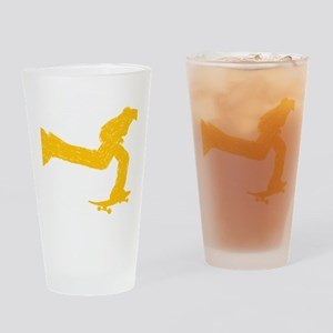 Keep on pushing Drinking Glass
