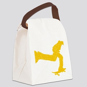 Keep on pushing Canvas Lunch Bag