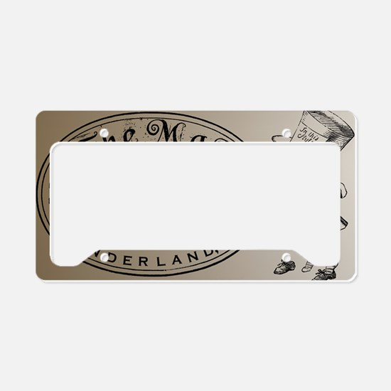Mad Hatter License Plate Holder