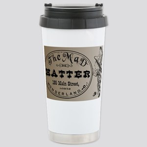 Mad Hatter Stainless Steel Travel Mug