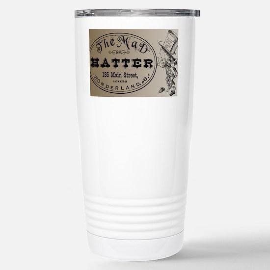 Mad Hatter Stainless Steel Travel Mug