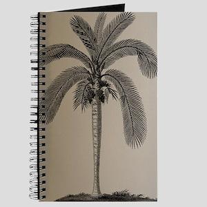 Golden Palm Tree Journal