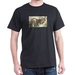 Tabby Cat Dark T-Shirt
