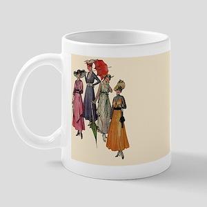 Women's Fashions 1915 Mug