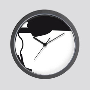 heavy_metal_hand_jumping Wall Clock