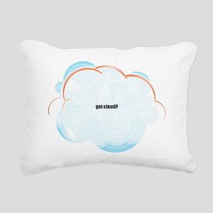 Got Cloud? Rectangular Canvas Pillow