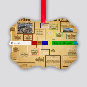 History of Muslim Spain Timeline  Picture Ornament