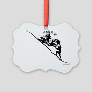Sisyphus Runner Picture Ornament