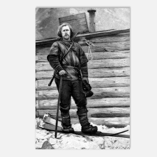 Fridtjof Nansen, Norwegia Postcards (Package of 8)