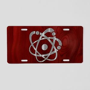 atom-steelwood-OV Aluminum License Plate